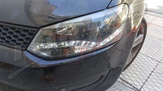 VW POLO 6R DAYLIGHT ΜΑΥΡΑ / BLACK