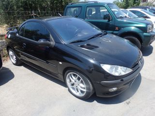 Peugeot 206 BLACK FRIDAY CABRIO ΔΕΡΜΑ