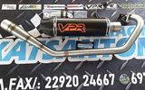 Εξάτμιση vpr performance για YAMAHA CRYPTON X135 black carbo...