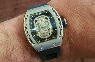 ca3d64175e Richard Mille Skull απο τιτάνιο αντιγραφο