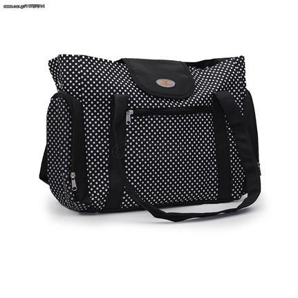 d6193158f3 Cangaroo Βρεφική Τσάντα-Αλλαξιέρα Mama Bag Miranda Black - € 22 EUR ...