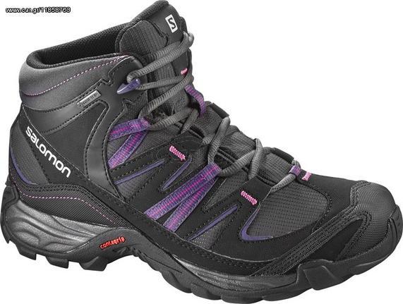 Αδιάβροχα ορειβατικά γυναικεία μποτάκια Salomon Mudstone Mid GTX Gore-Tex W  391725 Παλιά Σχεδίαση 2b69e399b29
