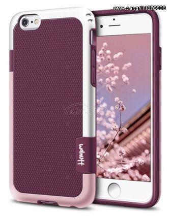 e25db43174 Θήκη iphone 6   6s Walnutt Hybrid Σιλικόνης TPU με πλαίσιο PC Σκληρό  Πλαστικό - 2784 - Ροζ Παλιά Σχεδίαση