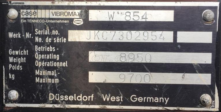 Case VIBROMAX W854 '88 - € 9 000 - Car gr