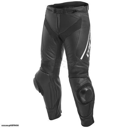 6d718aaed89b DAINESE DELTA 3 LEATHER PANTS δερμάτινο παντελόνι μαύρο μαύρο άσπρο ...