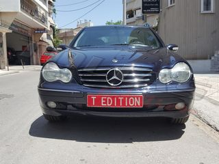 MERCEDES C-CLASS W203 SPORT GRILLE BLACK/CHROME