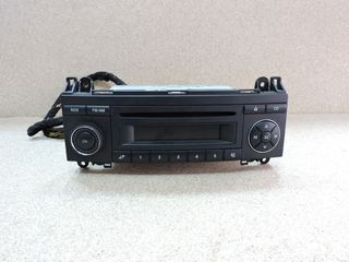 RADIO CD, MERCEDES-BENZ A-CLASS W169, 2005-2008, **AXOURISTOS**