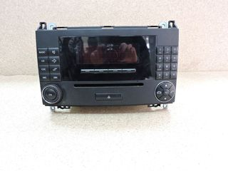RADIO CD, MERCEDES-BENZ A-CLASS W169, 2006-2012, **AXOURISTOS**