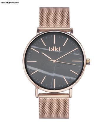 Πωλείται IKKI Ρολόι Γυναικείο Ροζ Χρυσό Ατσάλι Amelle ΑM02 Παλιά Σχεδίαση 1432939a800