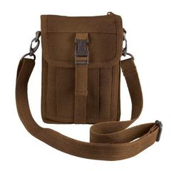 7cf7b1f621 ΤΣΑΝΤΑ ROTHCO TRAVEL PORTOFOLIO BROWN