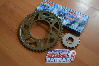 FZ1 FAZER CONVERSION 520 KIT (AFAM,JT SPROCKETS & DID ZVMX CHAIN)