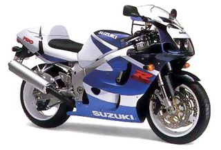 Suzuki GSX-R 750 srad injection '00