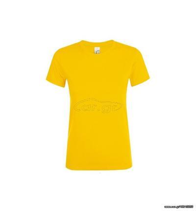 960b99980322 Sol s Regent Women 01825 Γυναικείο t-shirt 100% Ringspun βαμβάκι σεμί-πενιέ  - GOLD-301 Παλιά Σχεδίαση