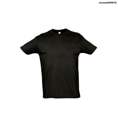 7f7fe1e12cb8 Sol s Imperial 11500 Ανδρικό t-shirt Jersey 190gr 100% βαμβάκι - DEEP  BLACK-309 Παλιά Σχεδίαση