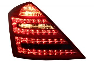 LED Taillights Mercedes Benz S-Class W221 (2006-2009) Limous...
