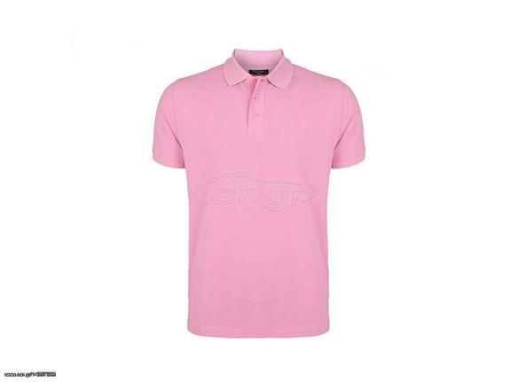 6d26d1239eea Pierre Cardin Ανδρικό μπλουζάκι polo T-Shirt με κοντό μανίκι και κουμπιά σε  Ροζ χρώμα - Pierre Cardin Παλιά Σχεδίαση