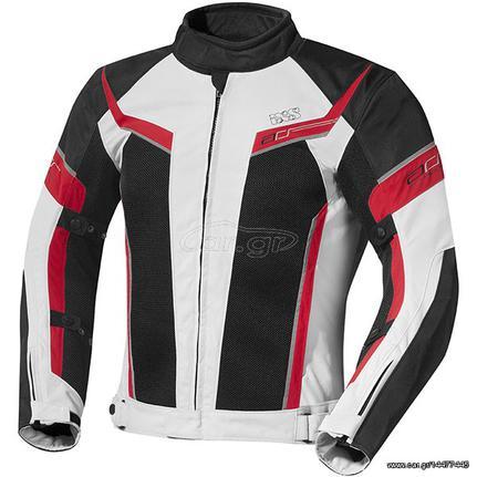 Καλοκαιρινό Μπουφάν Μηχανής IXS Ashton Άσπρο - Κόκκινο - € 169 EUR ... 02741908127
