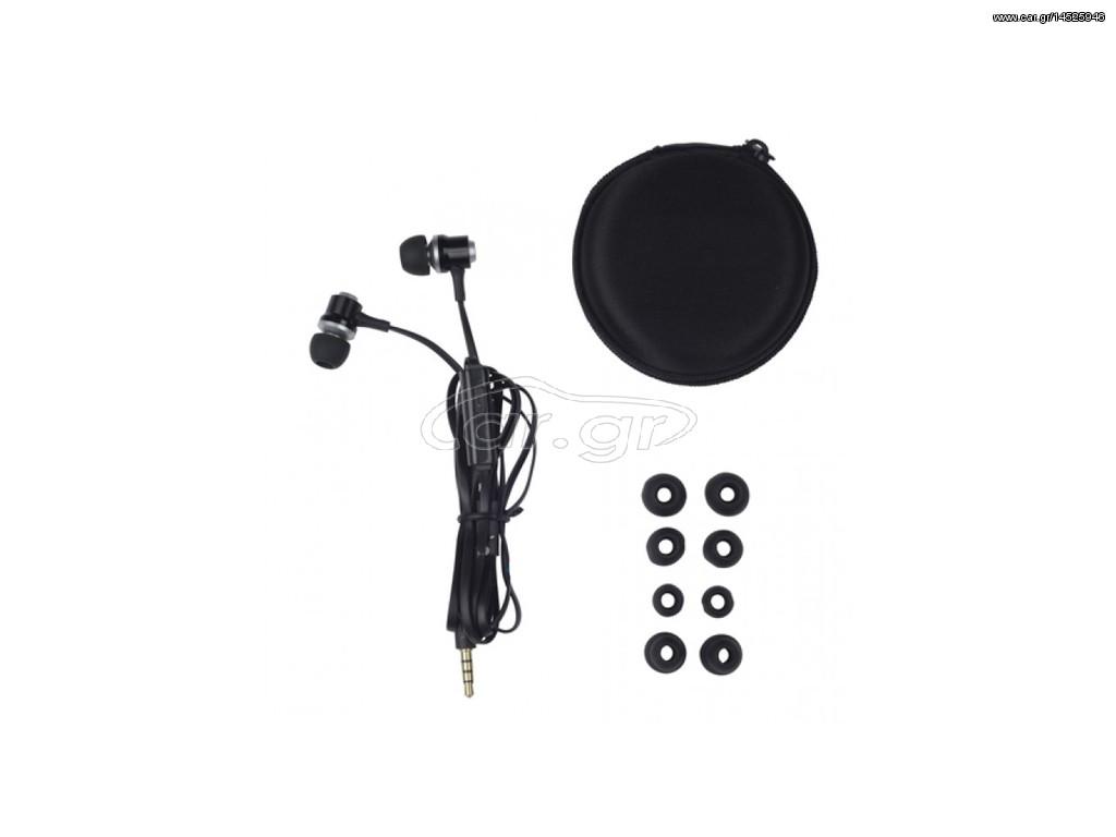 7caa0b73413 Grundig Επαγγελματικά Μεταλλικά Ακουστικά Ψείρες Stereo (In-ear) 1,2m με  Μικρόφωνο σε Μαύρο χρώμα, 86351 - Grundig - € 12 EUR - Car.gr