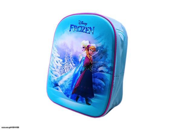 218dba20abb Disney Frozen Σχολική Τσάντα 3D Νηπιαγωγείου Δημοτικού Σακίδιο Πλάτης με  φερμουάρ και ρυθμιζόμενους ιμάντες 31x25cm, 17270 - Disney Παλιά Σχεδίαση