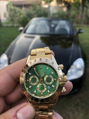 Rolex Daytona Green