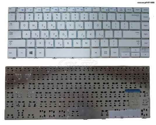 Πληκτρολόγιο Laptop Ελληνικό - Greek Keyboard for Samsung NP370R4E 370R4E  NP370R4E NP450R4E NP455R5J NP450R4V NP470R4E NP275E4V