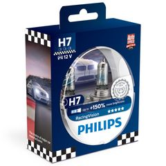 Philips Racing Vision H7 +150% 12V 55W