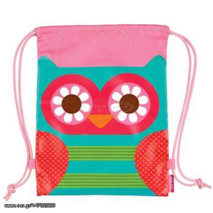 a33b5269a1c Stephen Joseph drawstring bag owl τσάντα πλάτης πουγκί Παλιά Σχεδίαση