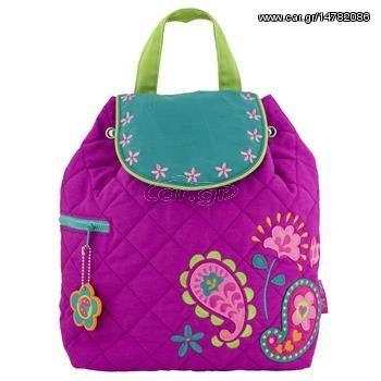2baf03f57c2 Stephen Joseph quilted backpack Paisley garden τσάντα σακίδιο sj.10.197  Παλιά Σχεδίαση