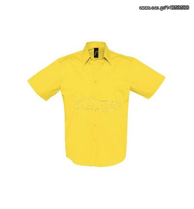 59094b661a21 Sol s Brooklyn 16080 Ανδρικό κοντομάνικο πουκάμισο 100% Βαμβάκι - GOLD-301  Παλιά Σχεδίαση