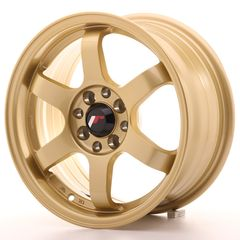 Japan Racing JR3 15x7 ET25 4x100/108 Bronze Biliris wheels