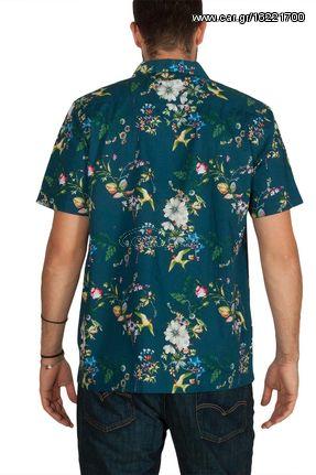 a75d6c3e1998 Anerkjendt Edgar κοντομάνικο πουκάμισο μπλε φλοράλ - 9218052 - € 19 ...