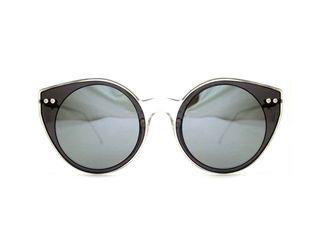 66f1d286ff Spitfire γυαλιά ηλίου Alpha select double lens clear black   silver mirror  - alpha-