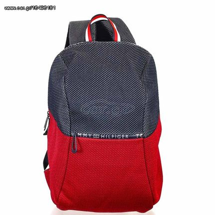 5f731abc3f Σακίδιο Πλάτης Tommy Hilfiger Tech Knit Backpack Red Navy - € 166 ...