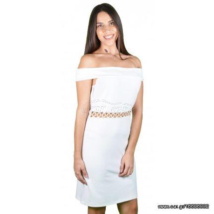 caba2be7c70d Γυναικείο Φόρεμα Λευκό - € 39 EUR - Car.gr