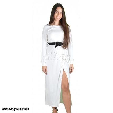 0634a08da857 Γυναικείο Φόρεμα Λευκό - Noobass - € 24 EUR - Car.gr