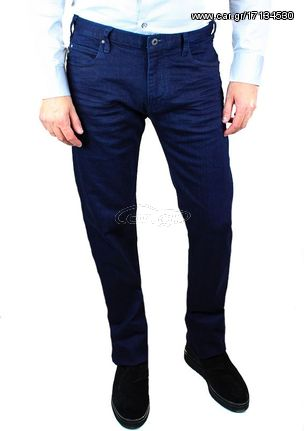 f2d81923a0 Ανδρικό Τζιν Emporio Armani 5 Pockets Jeans in Blue - € 89 EUR - Car.gr