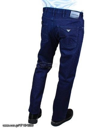 db3c017c8d Ανδρικό Τζιν Emporio Armani 5 Pockets Jeans in Blue Παλιά Σχεδίαση. Previous