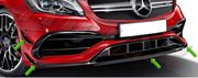 MERCEDES BENZ A CLASS W176 A45 FACELIFT  CANARDS & SPLITERS ...