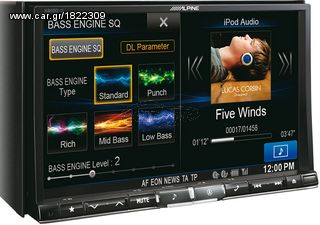 "ΟΘΟΝΗ MULTIMEDIA 8"" DVD USB MP3 BLUETOOTH ALPINE X800D-U ......"