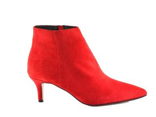 Fardoulis 5509 Red Suede Booties