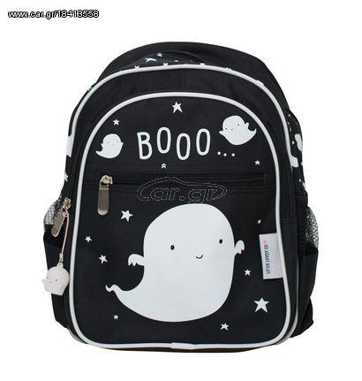 5a63af4376 A Little Lovely Παιδική Τσάντα Πλάτης Black Ghost BGGH006 - € 21 EUR ...
