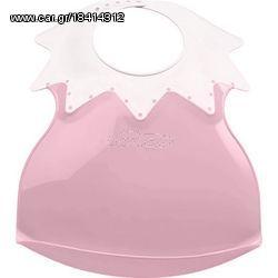 2cab0687e0b Thermobaby Πλαστική Σαλιάρα Soft Arlequin Pink 2154052 Παλιά Σχεδίαση