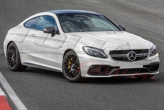 MERCEDES BENZ C CLASS C205 COUPE 2016 + type AMG C63 BODY KIT