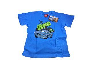 700c88d1895 Disney 32127 Παιδικό Αγορίστικο Κοντομάνικο Μπλουζάκι Cars με Λαιμόκοψη σε  Γαλάζιο χρώμα - Disney