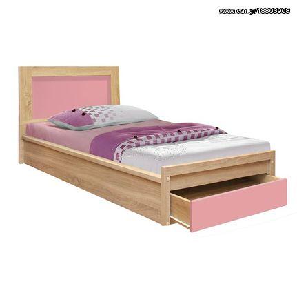 e7e49bccdf5 Παιδικό κρεβάτι με συρτάρι ροζ για στρώμα 90x190cm - € 94 EUR - Car.gr