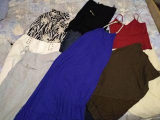 61d43a2539b1 5€ το κομμάτι! Φούστες μπλούζες πουκάμισα παντελονια