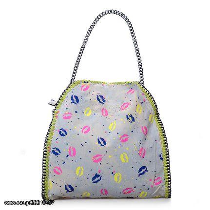 c90b2e0a3a Γυναικεία τσάντα ώμου με αλυσίδα - Γκρι Πράσινο - OEM 30990 Παλιά Σχεδίαση