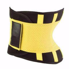 f6454c0030 Ελαστικός κορσές μέσης - ζώνη εφίδρωσης - Hot Shapers Power Belt - Κίτρινο