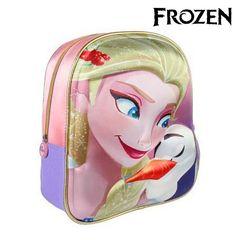 fba185146e Σχολική Τσάντα 3D Frozen 7969