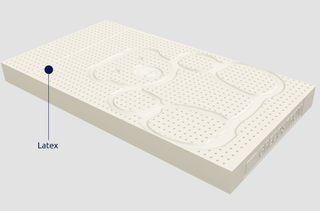 32dfd1c5def Greco Strom Βρεφικό Στρώμα για Κρεβάτι από 75 εώς 80x160 Latex με κάλυμμα  από Οργανικό Βαμβάκι